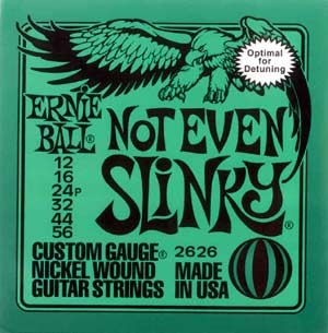 Ernie Ball Not Even Slinky 2626 12-56