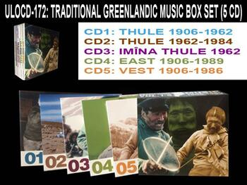 Traditional greenlandic Music box set 5 cd