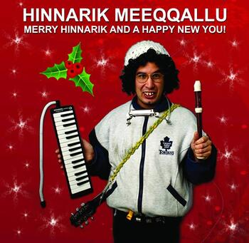 Merry Hinnarik and a Happy New you!