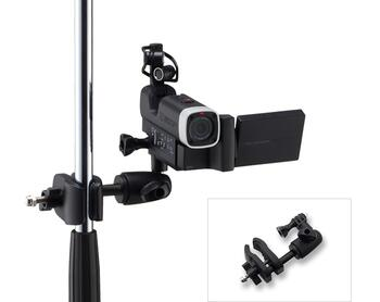 ZOOM MSM-1 mic stand mount for action cameras