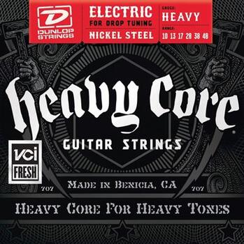 Dunlop Electric Heavy Core 10-48