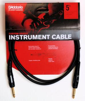 Planet Waves PW-G-05 instrument kabel custom 1,5 m
