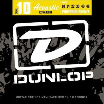 DUNLOP ACOUSTIC EXTRA LIGHT 10-48