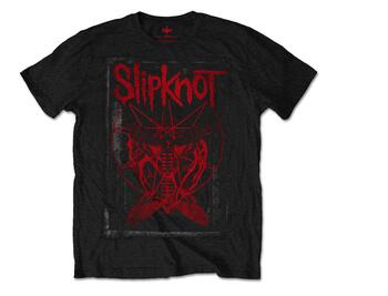 SLIPKNOT red logo T-shirt