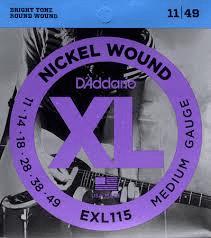Daddario EXL115 Nickel Wound