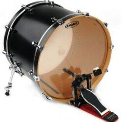 "Evans BD20G2 Genera G2 Clear 20"" Bass Drum Batter Head"