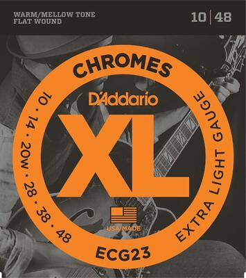 DADDARIO STRINGS CHROMES ECG23 10-48