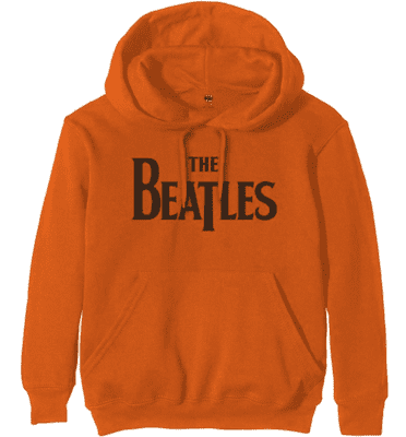 BEATLES orange hoodie