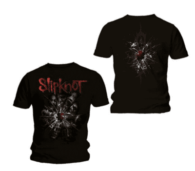 SLIPKNOT Breaking glass T-shirt