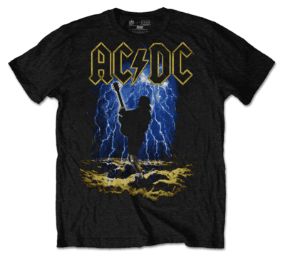 AC/DC guitarplayer T-shirt