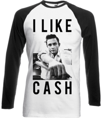 JOHNNY CASH White long sleeve