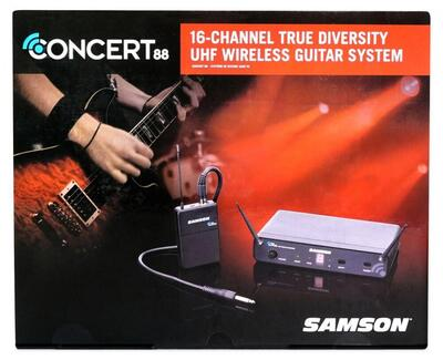 Samson Concert88 Wireless guitar system
