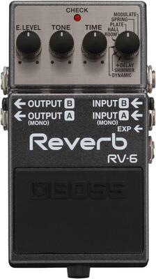 Boss guitareffekt reverb RV-6
