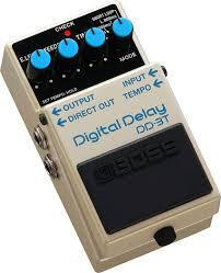 Boss guitareffekt delay DD-3T